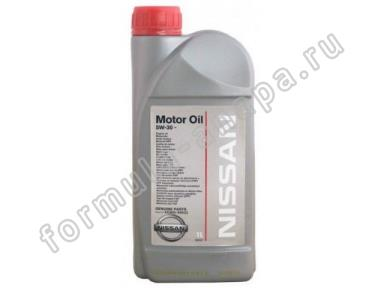 NISSAN NISSAN Motor Oil 5W-30  Масло моторное